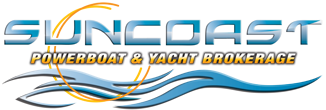 Suncoast powerboat and yacht brokerage logo